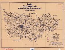 Powiat Zielonogórski : mapa administracyjna i komunikacyjna w skali 1:100 000