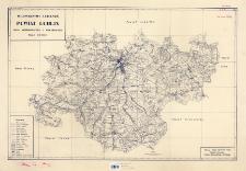 Województwo lubelskie : powiat Lublin : mapa administracyjna i komunikacyjna skala 1:100000