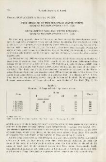 Food storage of the European water shrew, Neomys fodiens (Pennant, 1771); Gromadzenie pokarmu przez rzęsorka, Neomys fodiens (Pennant, 1771)