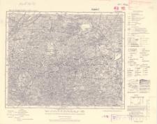 Karte des Deutschen Reiches 1:100 000, 393. Kamenz