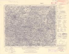 Karte des Deutschen Reiches 1:100 000, 419. Bautzen
