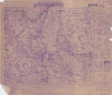 Karte des Deutschen Reiches 1:100 000. Frankfurt a/O.