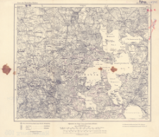 Karte des Deutschen Reiches 1:100 000, 105. Rastenburg