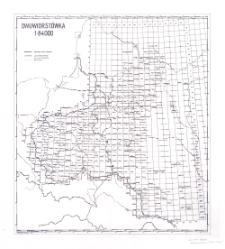 Novaâ topografičeskaâ karta Zapadnoj Rossii 1:84 000 [skorowidz arkuszy]