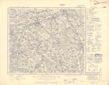 Karte des Deutschen Reiches 1:100 000, 75. Friedland i. Ostpr.