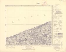 Karte des Deutschen Reiches 1:100 000, 92. Treptow a.d. Rega