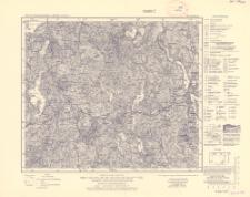 Karte des Deutschen Reiches 1:100 000, 135. Sensburg
