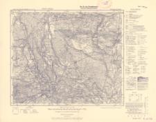 Karte des Deutschen Reiches 1:100 000 , 191. Deutsch Krone