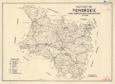 Województwo pomorskie : mapa administracyjna i komunikacyjna w skali 1:300.000