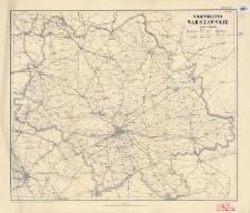 Województwo warszawskie : skala 1:300000