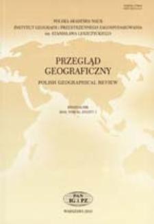 Możliwości zastosowania teorii funkcjonowania geoekosystemu do badań obszarów bezodpływowych = Possible applications of the geoecosystem theory in the study of areas without outlets