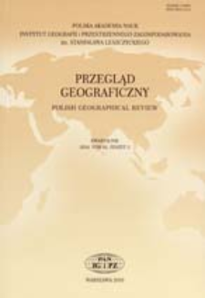 Anglo-amerykańska dominacja w geografii: główne wątki dyskusji prowadzonej w ramach geografii krytycznej = Anglo-American domination in geography. The main threads of a discussionconducted within the framework of critical geography