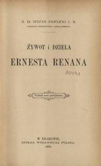 Żywot i dzieła Ernesta Renana