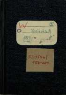 Zeszyty z badań gwarowych; Zeszyty z badań gwarowych; F/1953w/2