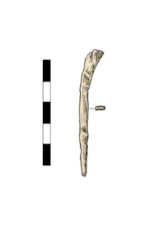 Nail, headless, fragment