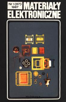 Spis treści 1987 nr 1(57)