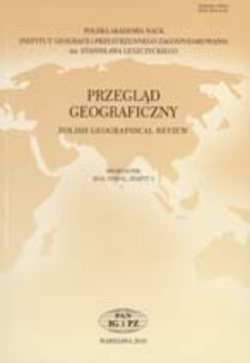 Stan krytyczny polskiej geografii - krytyka stanu = The critical condition of Polish geography - and a criticism of the current state of affairs