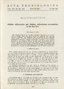 Bulbus olfactorius and Bulbus olfactorius accessorius in the roe deer