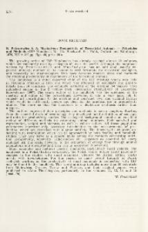 K. Petrusewicz, A. Macfadyen, 1970: Productivity of Terrestrial Animals - Principles and Methods (IBP Handbook No. 13). Blackwell Sci. Publ., Oxford, Edinburgh, 190 pp