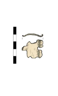Fitting or buckle, fragment
