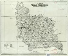 Mapa hydrograficzna dorzeczy Niemna i Dźwiny