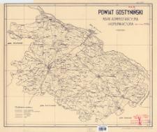 Powiat gostyniński : mapa administracyjna i komunikacyjna 1:100 000