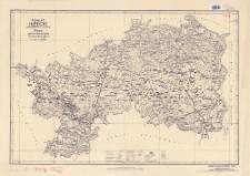 Powiat iłżecki : województwo kieleckie : mapa administracyjna i komunikacyjna w skali 1:100.000