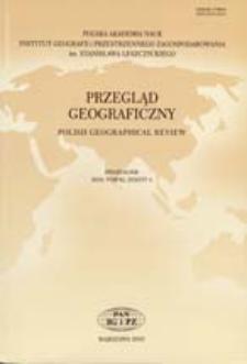 Przegląd Geograficzny T. 82 z. 4 (2010) Recenzje
