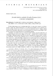 Kronika halicko-wołyńska (Kronika Romanowiczów) o mostach i przeprawach