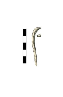Nail, headless, fragment