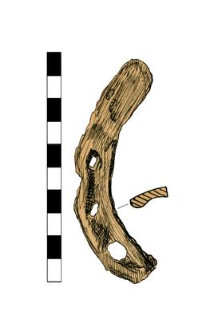 Horseshoe, fragment