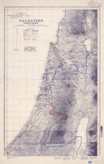 Palestine : north sheet : scale 1:250,000
