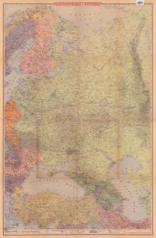 Ravenstein Karte : Osteuropa : 1:3 1/3 mill