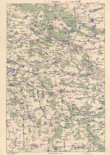 Winnica : podziałka 1:200.000 czyli 1 cm = 2 km.