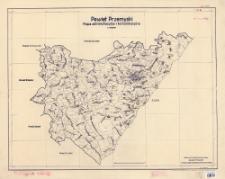 Powiat przemyski : mapa administracyjna i komunikacyjna : 1:100 000