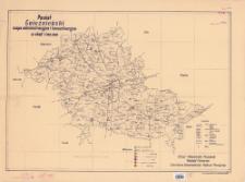 Powiat gnieźnieński : mapa administracyjna i komunikacyjna w skali 1:100.000