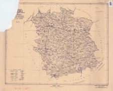 Powiat buski : województwo kieleckie : mapa administracyjna i komunikacyjna w skali 1:100 000