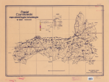Powiat czarnkowski : mapa administracyjna i komunikacyjna w skali 1:100 000