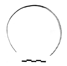 armlet made of spiral band (Kościan) - chemical analysis