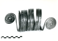 armlet made of spiral band (Granowo) - chemical analysis