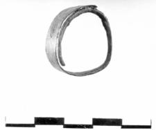 leaf-shaped ring (Miernów) - chemical analysis