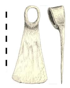 motyka, żelazna