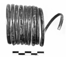 spiral bracelet (Adamowice) - chemical analysis