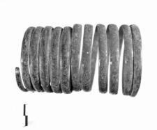 spiral bracelet (Pilszcz) - chemical analysis