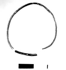 wire bracelet (Tomice) - chemical analysis