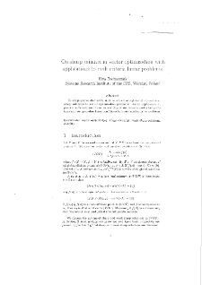 On Sharp Minima in Vector Optimization with Applications to Multicriteria Linear Problems