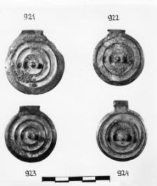 tarczka wisiorek (Jaworze Dolne) - analiza chemiczna