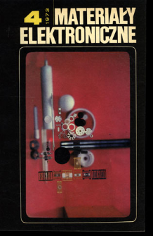 Materiały Elektroniczne 1973 nr 4