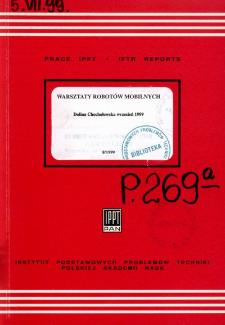 Warsztaty Robotów Mobilnych : Dolina Chochołowska, wrzesień 1999 : Praca zbiorowa