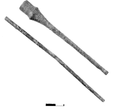 pin with an ornamented pinhead (Sobiejuchy)